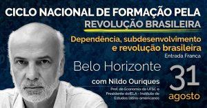 #RevoluçãoBrasileira #BeloHorizonte #Nildorix #Economia #Política #Brasil #Bolsonaro #Sintsprev #MinasGerais #Formação #FormaçãoPolítica #NildoPSOL
